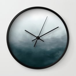 Ombre Wall Clock