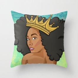Reigning Queen Throw Pillow