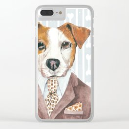 Jacki Russell Clear iPhone Case