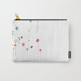 Floral Fall Carry-All Pouch