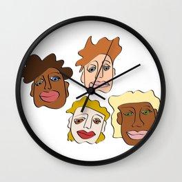 LOSTMYHEAD Wall Clock