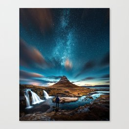 Cosmos Dark Canvas Print
