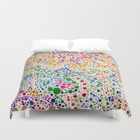confetti Duvet Covers featuring Confetti by Love2Snap
