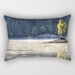 Glen Affric morning mood Rectangular Pillow