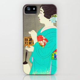 Mushikago - Insect Cage - Japanese Art iPhone Case