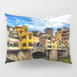 Ponte Vecchio in Firenze / Florence Pillow Sham