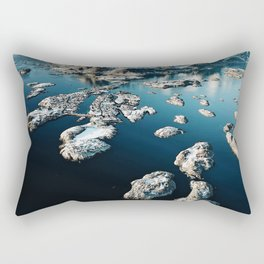 norway aerial view Rectangular Pillow