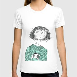 Coffee and Sweaters T-shirt