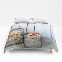 An Apple a Day Comforters