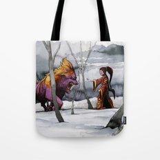 BEAST AND BEAUTIFUL Tote Bag