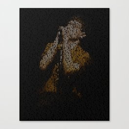 Ian Curtis : Unknown Pleasures Canvas Print