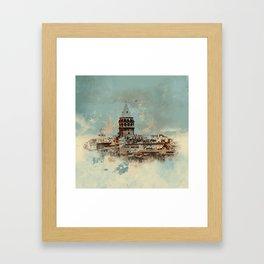 Galata Tower Framed Art Print