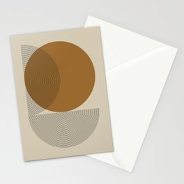 Geometric Composition VI Stationery Cards