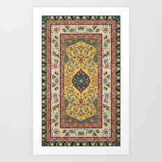 Persian Rug Design 1 Art Print