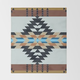 American Native Pattern No. 133 Throw Blanket