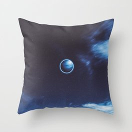 Neptune Art Throw Pillow