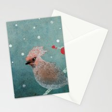 Tweet in the Snow Stationery Cards