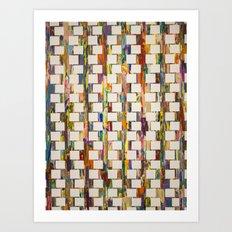 Obsessive Compulsive Zipper Art Print