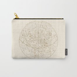 Visible Heavens - Gold Carry-All Pouch