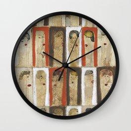 Girls, Girls 3 Wall Clock