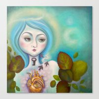 alchemy Canvas Prints featuring Alchemy by Natalia Olivea