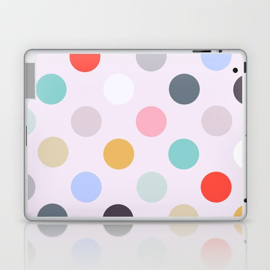 Polka Dots Laptop & iPad Skin