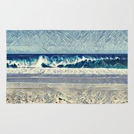 Aesthetic Waves Rug
