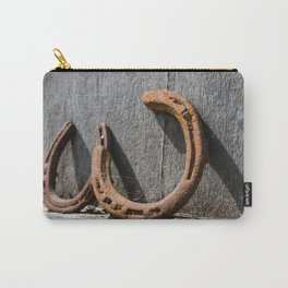 Horse shoes Carry-All Pouch