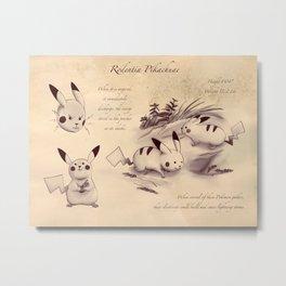 Rodentia Pikachuae Metal Print
