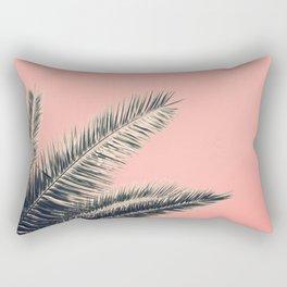 Retro Style Palm Tree Rectangular Pillow