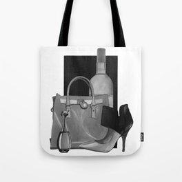 Fashion Illustration - Ink Wash Tote Bag