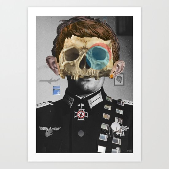 War Collage 2 Art Print
