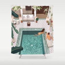 Riad Yasmine, Marrakech Shower Curtain