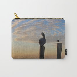 Duplicitous Characters II Carry-All Pouch