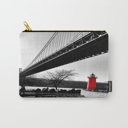 The Little Red Lighthouse - George Washington Bridge NYC Carry-All Pouch