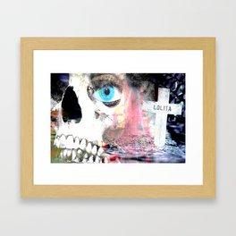 """Dead Lolita"" Framed Art Print"