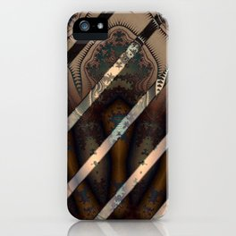 Abstract by Leslie Harlow iPhone Case