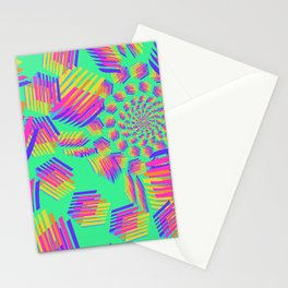 Spring breakers - geometric color Stationery Cards