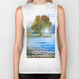 Tree of Surf Life // 2 Biker Tank