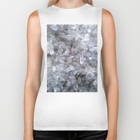 crystal Biker Tanks featuring Crystal by Danielle Fedorshik
