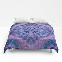 Purple Tie Dye Comforters