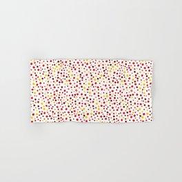 Bubble Rocks-Sunshine: Part of Organic Medallion collection Hand & Bath Towel