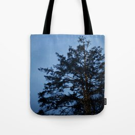 Evergreen at Twilight Tote Bag
