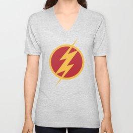 The Flash Logo Unisex V-Neck