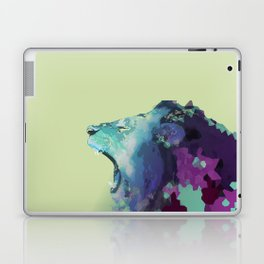 Colorful Geometric Lion Laptop & iPad Skin