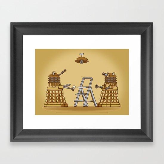 Dalek DIY Framed Art Print