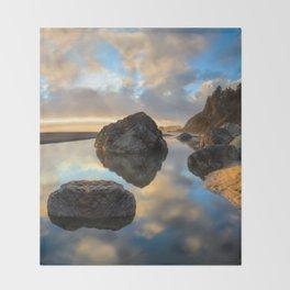 Moonstone Sunset Throw Blanket