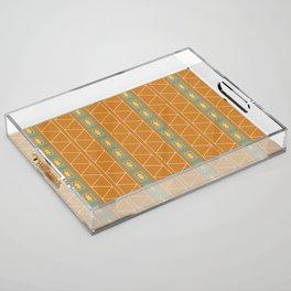 Sante Fe Geo Acrylic Tray