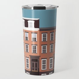 West Village, New York, NYC Travel Poster Travel Mug