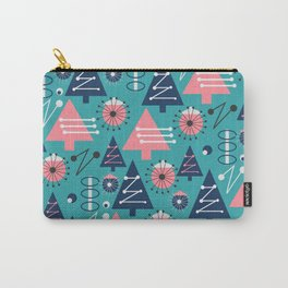 Mid-century modern Christmas Carry-All Pouch